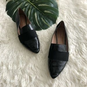 Madewell 7 Leandra Patent Leather Loafer Black